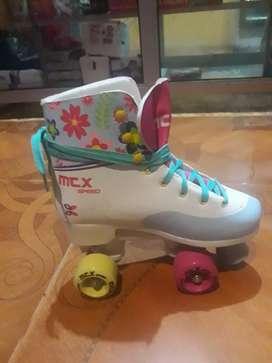 De Oportunidad vendo o cambio patines de niña