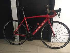 Bicicleta de ruta en alumio marca specialized modelo allez, talla 54 (usada)