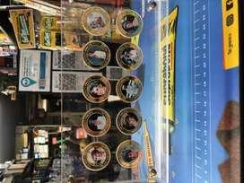 .vendo Coleccion De 10 Monedas De La Princesa Diana