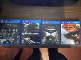 Juegos PS4 a 40$ el combo