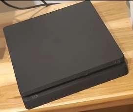 PlayStation 4 Comùn -1TB de memoria -Jhostyk con carcasa azul.