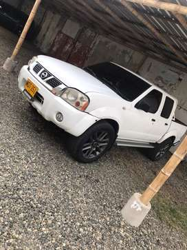 Vendo nissan Frontier 4x4 turbo diesel impecable