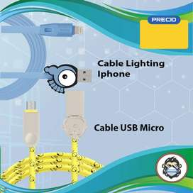 Cable Lightning - Micro USB