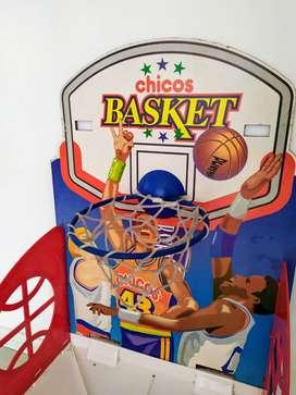aro de basquet  chicos basquet domestico infantil