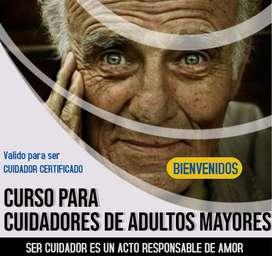 curso para cuidadores de adultos mayores