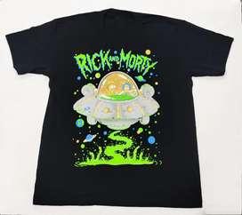 Camiseta Rick And Morty, Nave, Comics, Adulto
