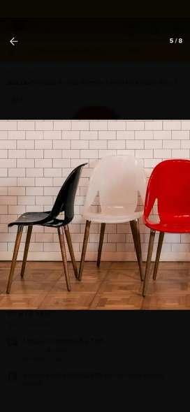 Sillas Diseño Moderno Eames Nina Wood  x 4