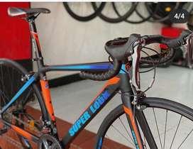 Bicicleta de ruta marca Super Look