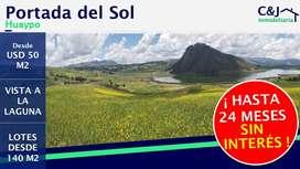 Lotes En Chinchero, Cusco 140m2 A 430m2, Desde Usd 50m2
