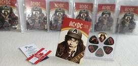 AC/DC Perri 's Leathers picks guitarra