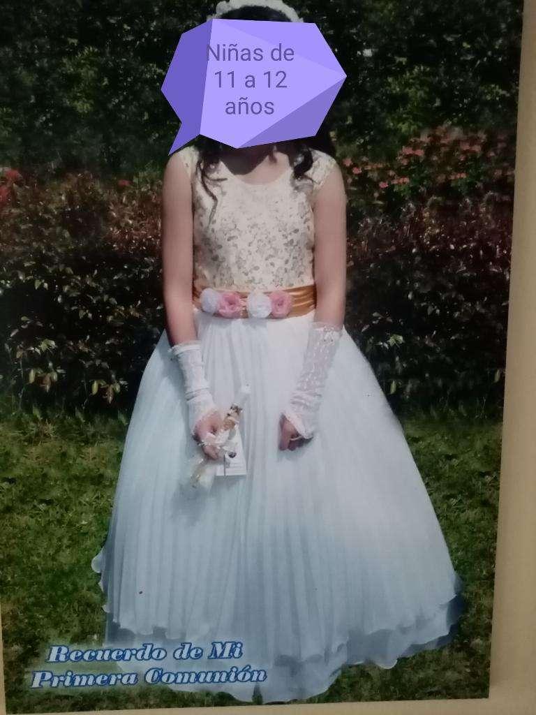 Hermoso Vestido Primera Comunión 200 0