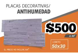 PLACAS ANTIHUMEDAD