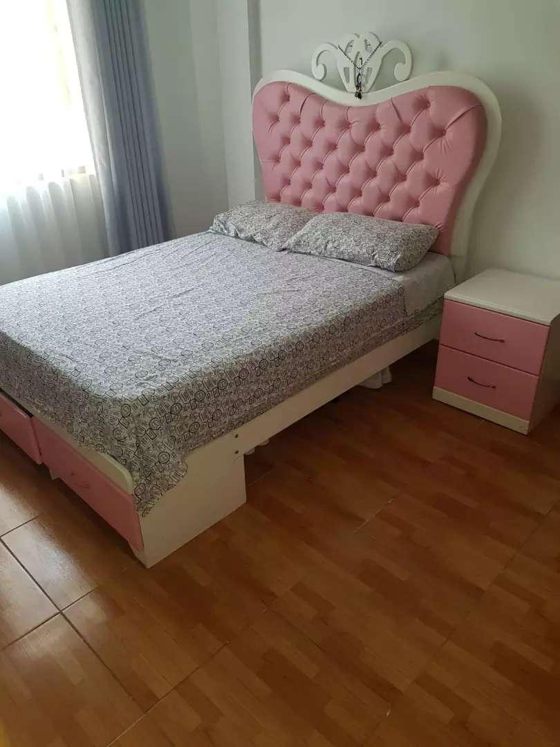 Remato cama + velador 0