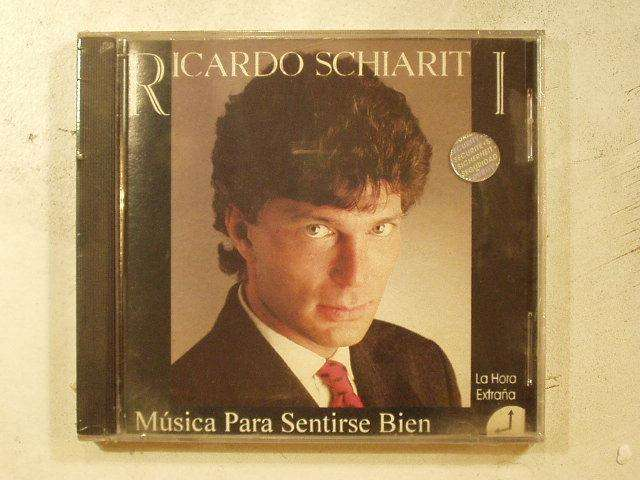 Cd Ricardo Schiariti Musica Para Sentirse Bien La Hora Extra