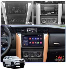 TOYOTA FORTUNER 2018 2019  ANDROID AUTORADIO WIFI BLUETOOTH GPS PANTALLA TACTIL CARROX PERU
