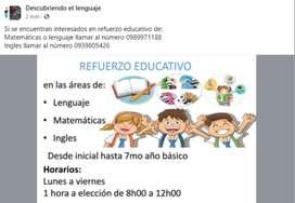 Refuerzo educativo