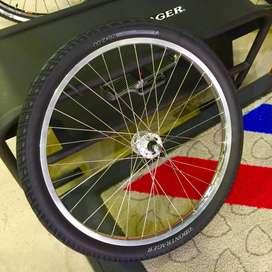 bicicleta en repuesto