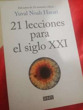 LIBRO Nuevo 21 lecciones para el siglo 21