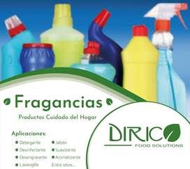 Fragancias para productos de cuidado del hogar