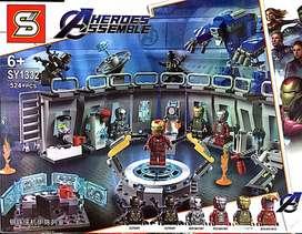 Lego Replica Iron Man Laboratorio