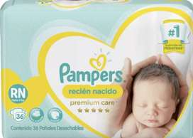 REMATO 40 PAÑALES PAMPERS RECIEN NACIDOS HASTA 4KG