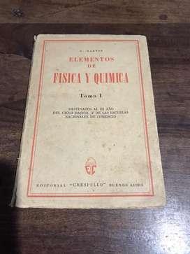 Elementos de Fisica y Quimica. Tomo I.