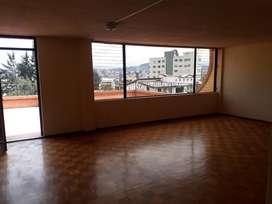 Alquiler / Renta / Arriendo Departamento 4 habitaciones, Sector Rumipamba cerca a la UTE, Av. América, República