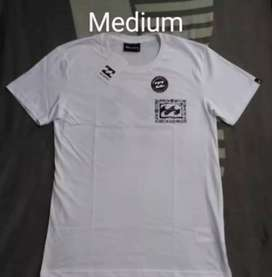 Polo Billabong Medium blanco