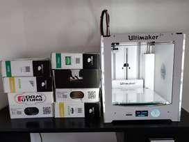Vendo impresora 3D ultimaker 2+