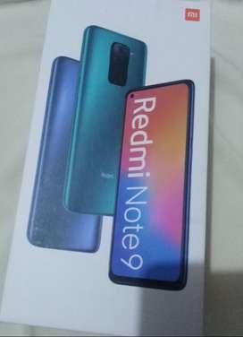 Redmi Note 9 nuevo *