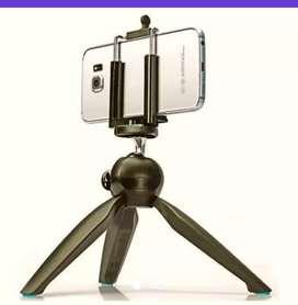 Mini trípode ideal para cámara digital, videocámara de acción, teléfono inteligente