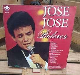 Long Play Lps Dísco Acetato Pasta Vinyl JOSE JOSE Boleros