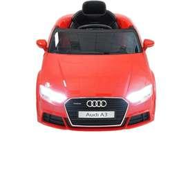 Carro Audi Rojo de Niño A3 Exelente
