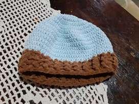 Gorro de lana para bebés