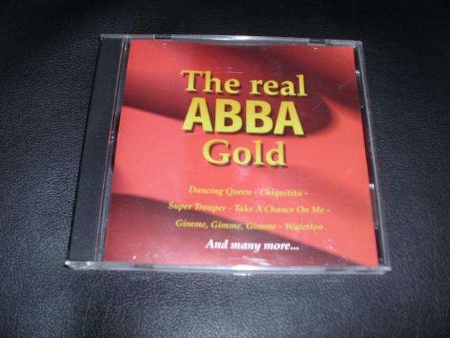 "ABBA CD "" THE REAL GOLD """