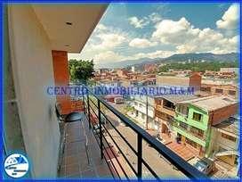 ¡Quieres una buena vista! Renta Aparta Estudio Por Días Amoblado en Medellín