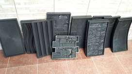 Vendo o permuto Moldes para fabricar placas de yeso