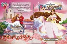 El mundo mágico de las princesas segunda mano  La Plata, Buenos Aires
