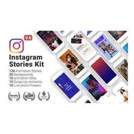 Plantillas Editables Para Instagram Storie En After Effects
