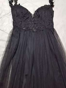 Vestido de fiesta Negro talla M