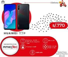 Huawei Y7p 2020 (64 GB / 4 GB) Nuevo, sellado con garantía.