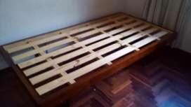 Vendo camas madera