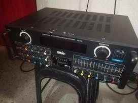 Amplificador Bluetooth y usb