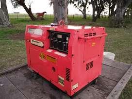 Generador Toyama insonoro 5000w