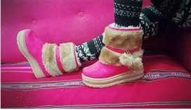 Zapatillas y panchas