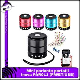 MINI PARLANTE INALÁMBRICO INOVA SPEAKER BLUETOOTH PAR011