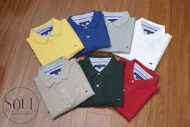 Camiseta Tommy Hilfiger tipo polo