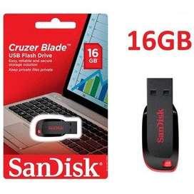 Memoria Sandisk Usb 16 Gb C Blade Negra