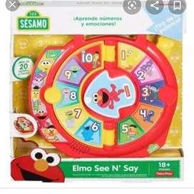 Elmo see'n say