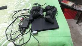 Play Station 2 con 4 Palancas Orijinales